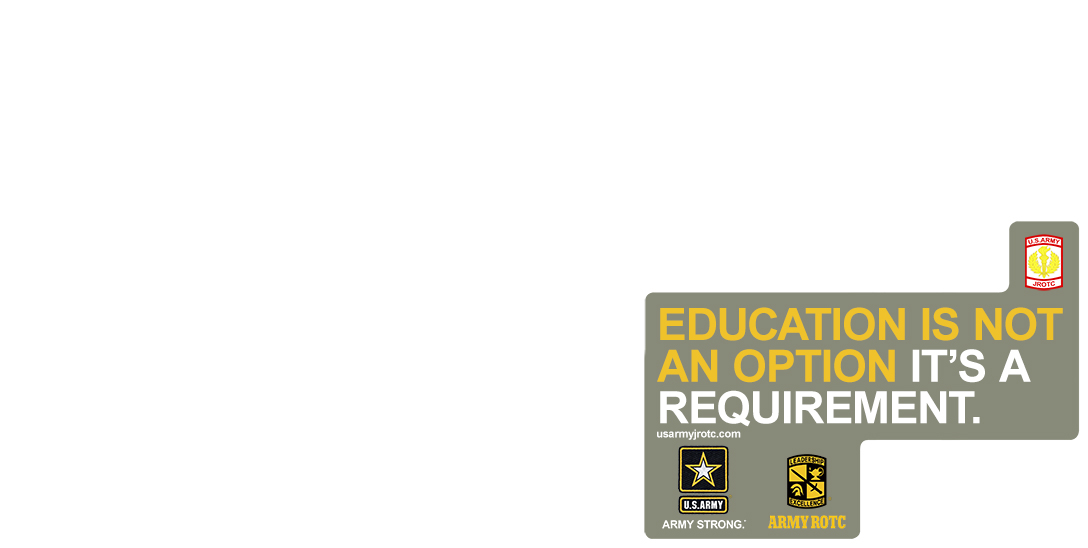 Blank Education is no Option Poster Template 3' x 6' Poster
