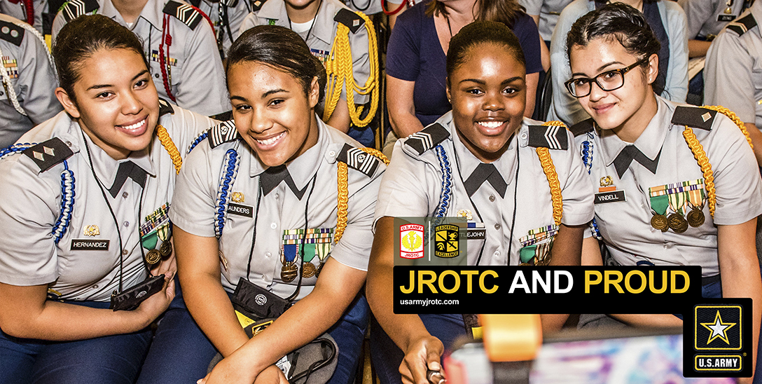 JROTC and Proud 3' x 6' Poster