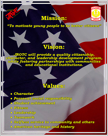 ROTC Mission/Vision/Values Poster