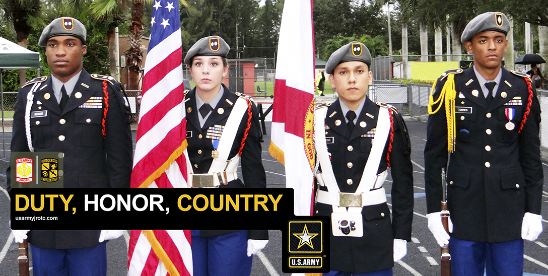 Duty, Honor, Country 4' x 8' Poster