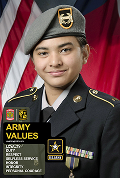 Army Values 2' x 3' Poster