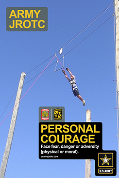 Personal Courage 2' x 3' Poster