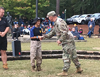 CSM Terenas Presenting Coins - All Service